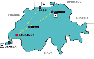 swiss-map